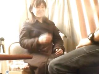 Schoolgirl filmed when wiggling jock in the gash