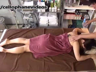 Breasty japanese 18 age teen getting rubdown