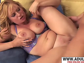 Euro stepmom violet addamson pounding voiced fragile stepson