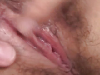 Unknown Model has pussy sexually aroused and bitchy by men in 3 way