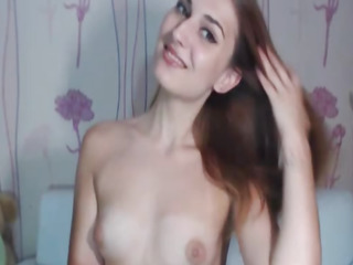 Killer Warm Teenager Striptease and Getting off