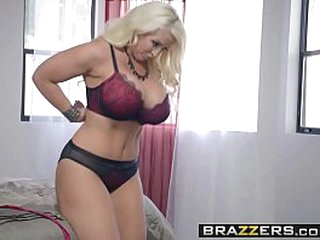Brazzers - Thick Asses Like It Thick -  My Stepmothers Blossom gig starring Alura Jenson and Jessy J
