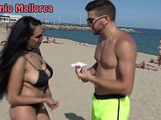 Antonio Mallorca Katrina Moreno Deep throat at beach