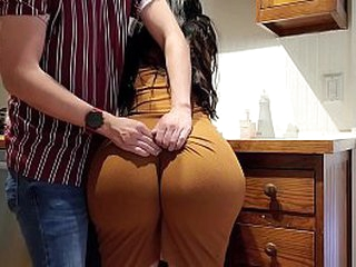 Crystal passion can't move! so her son nails her thick Ass!