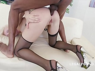 5on1 Interracial Extreme DAP Balls Deep Anal for Bree Haze