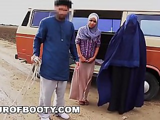 TOUROFBOOTY - What Can This Goat Buy Us? How About Some Premium Arab Pussy?!?!?!