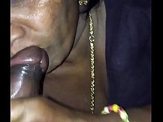 Indian old woman's sex